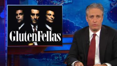 'GlutenFellas': Jon Stewart spices up the already amazing saga of Rep. Michael Grimm