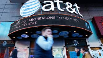 AT&T Time Warner merger.