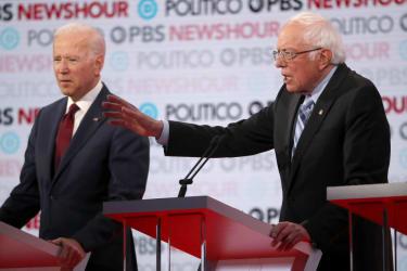 Bernie Sanders debate.