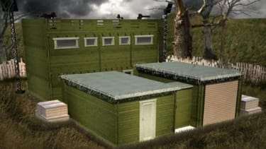 This log cabin promises to protect you from zombies