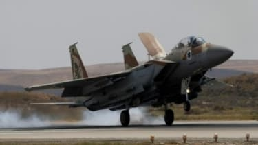 A proposed $60 billion weapons deal with Saudi Arabia would include Boeing F-15 fighters, pictured.