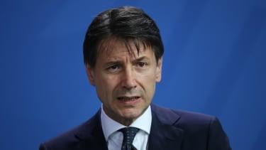 Italian Prime Minister Guiseppe Conte.