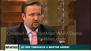 Sebastian Gorka on Hungarian TV