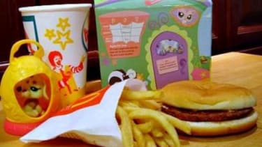 San Francisco is the first major U.S. city to pass a law requiring that kids' meals meet nutritional standards before they can be sold with toys.