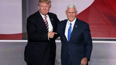 Trump says he'll blame Pence if he loses the election.