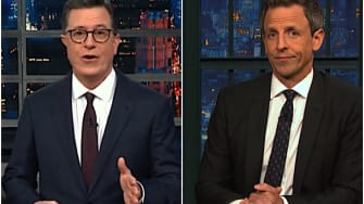 Stephen Colbert and Seth Meyers on Trump and the Florida recount
