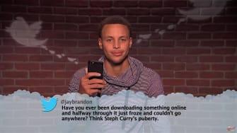 NBA stars read mean tweets