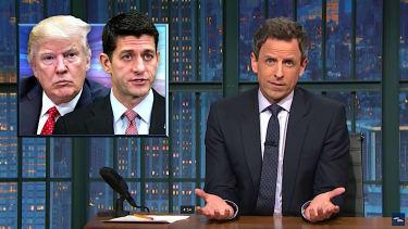 Seth Meyers mocks GOP health-care pain