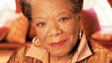 One of the most influential voices of our time, Maya Angelou.
