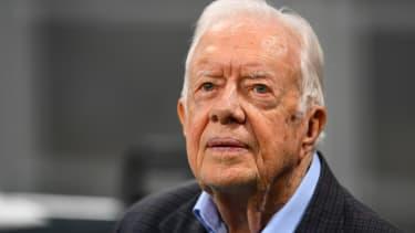 Former President Jimmy Carter.
