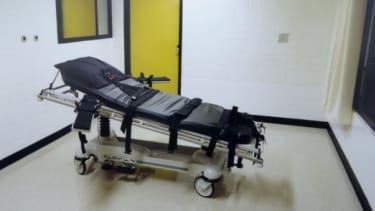 A death row gurney.