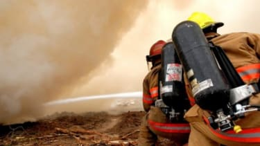 Forget high-powered water, the future of firefighting will be beams of electricity that will suppress flames rapidly.