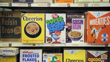 Vinatge boxes of cereal that strike gold.