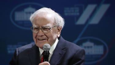 Warren Buffett at White House event
