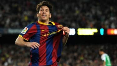 With at least nine more games to play this season, Argentine soccer star Lionel Messi has already tied the Spanish record of 47 goals scored in a single season.