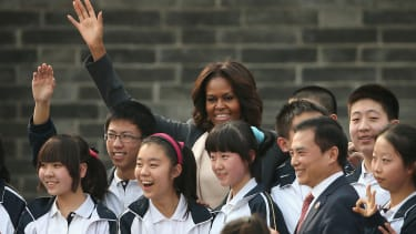 Obama and Chinese President Xi Jinping traded jokes about Michelle Obama