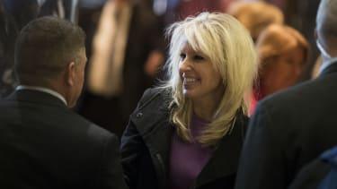 Monica Crowley departs Trump Tower
