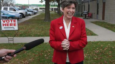 Republican Joni Ernst wins Iowa Senate seat for GOP