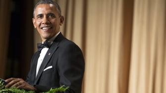 President Obama during last year's correspondents' dinner.