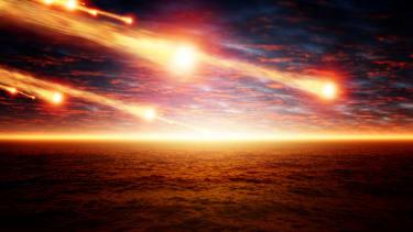Asteroid apocalypse.