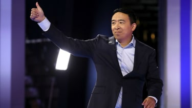 Andrew Yang has a big idea.