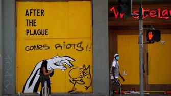 Grafitti in Los Angeles