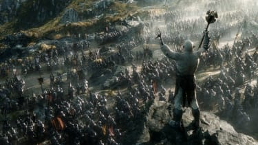 The Hobbit trilogy will end with a 45-minute battle scene
