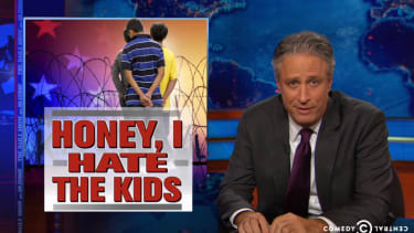 The Daily Show slyly lets child-immigrant repellers make their best case