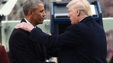Peaceful transition.