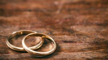 Wedding rings.