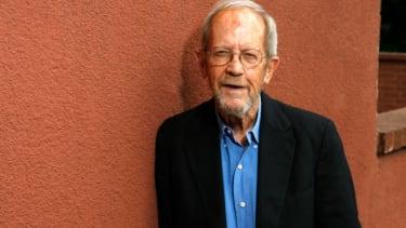 Elmore Leonard, pictured in 2007