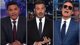 Late night hosts on Joe Biden's big win