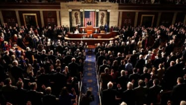 The swearing in of the 113th Congress, which, at the very least, couldn't possibly be as bad as its predecessor.