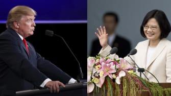 President Trump and Taiwan President Tsai Ing-wen