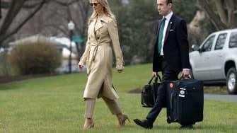 Ivanka Trump and Stephen Miller
