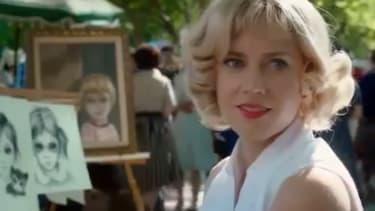Watch the first trailer for Tim Burton's Big Eyes