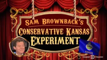 The Daily Show digs into the anti-GOP backlash in solidly red Kansas