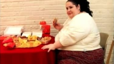 Donna Simpson, the world's fattest mom.