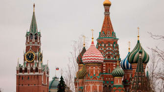 Kremlin and St. Basil's.