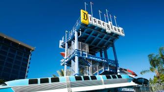 The Disneyland sign.