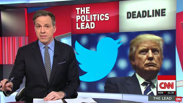 Jake Tapper is annoyed at Trump wiretapping claim