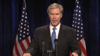 Will Ferrell as former President George W. Bush