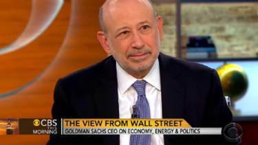 Goldman's Blankfein: Income inequality is 'destabilizing'