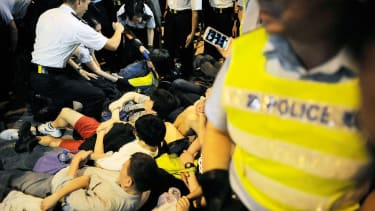 511 people arrested at Hong Kong's democracy protest