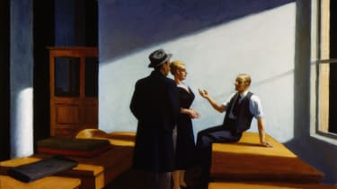 Hopper Painting