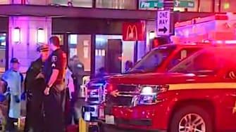 Shooting outside Seattle McDonald's