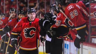 Calgary Flames players.