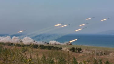 North Korea conducts live-fire exercises