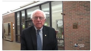 Bernie Sanders talks to ABC News about his campaign.