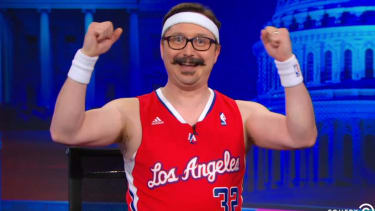 The Daily Show's 'Deranged Millionaire' wants to buy the L.A. Clippers, too